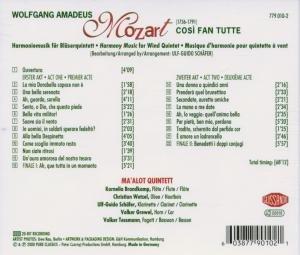 Cosi Fan Tutte-Harmoniemusik
