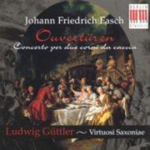 Ouvertüren-Concerto Per Due Corni Da Caccio