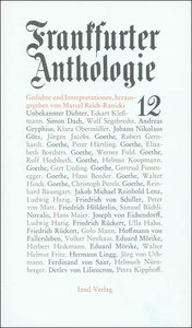 Frankfurter Anthologie 12