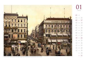 Berlin um 1900 - Wandkalender 2018