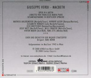 Macbeth (Ga,Deutsch)
