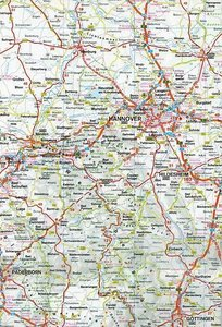 Northern Germany Travel Map 1 : 500 000