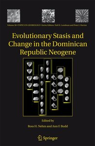 Evolutionary Stasis and Change in the Dominican Republic Neogene