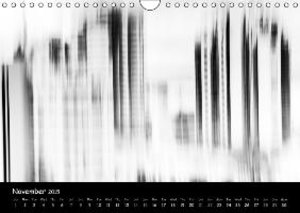 Abstract in B&W (Wall Calendar 2015 DIN A4 Landscape)