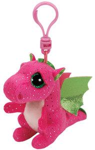 Clip - Drache Darla pink 8,5cm