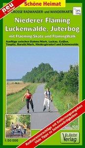 Niederer Fläming, Luckenwalde, Jüterbog mit Fläming-Skate 1 : 50