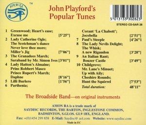 Playford Popular Tunes