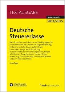 Deutsche Steuererlasse