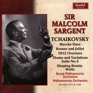 Sir Malcolm Sargent dirigiert