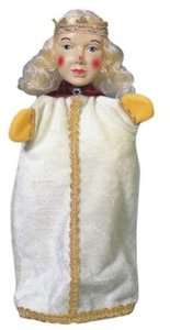 Kersa Micha 30120 - Handpuppen Prinzessin, 35 cm
