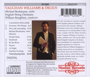 Vaughan Willams/Delius