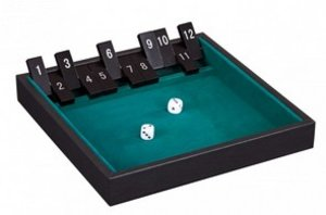 Philos 3287 - Shut The Box, 12er, Kunstleder