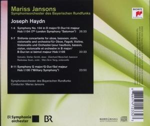 Sinfonien 100 & 104/Sinfonia concertante