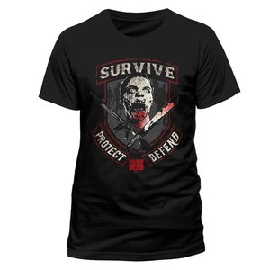Survive (T-Shirt,Schwarz,Größe L)