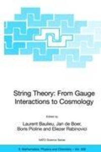 String Theory: From Gauge Interactions to Cosmology