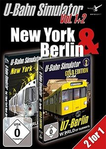 U-Bahn Simulator Vol. 1+2 - New York & Berlin