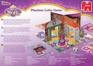 Disney Sofia the First - Pop-up Lotto Spiel