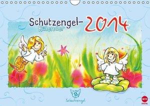 Schutzengelkalender 2014 (Wandkalender 2014 DIN A4 quer)