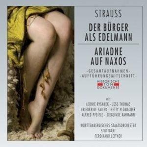 Der Bürger Als Edelmann/Ariadne Auf Naxos