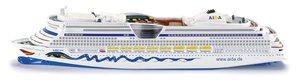SIKU 1720 - Kreuzfahrtschiff AIDA, L 18,2 x B 2,3 x H 3,8 cm