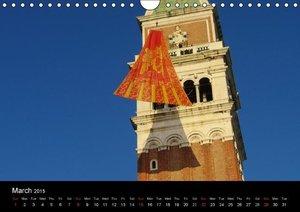 The Other Venice / UK-Version (Wall Calendar 2015 DIN A4 Landsca