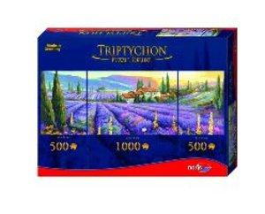 Tript. Puzzle 2000tlg. Lavendelfelder