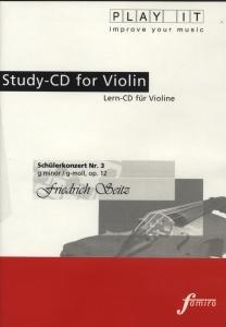 Schüler-Konzert Nr. 3, op. 12, g-moll