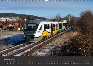 Oberlausitzer Eisenbahnen 2017 (Wandkalender 2017 DIN A2 quer)