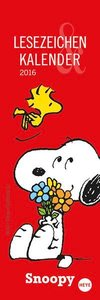 Snoopy Lesezeichen & Kalender 2016