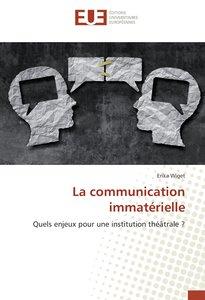 La communication immatérielle