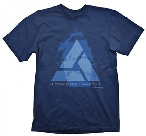 Assassins Creed IV - Blackflag - Distant Lands -T-Shirt - Blau -