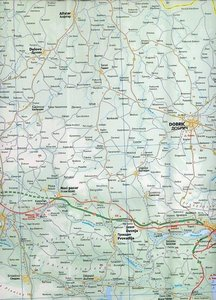 Bulgaria Travel Reference Map 1 : 375 000