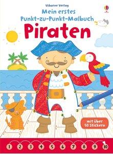 Mein erstes Punkt-zu-Punkt-Malbuch: Piraten