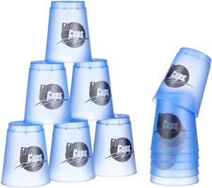 Flash Cups 1011 - Speed Stacking: FlashCups ice, 12 Stück, mit B
