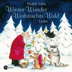 Winter-Wunder-Weihnachts-Wald