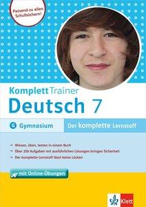 KomplettTrainer Deutsch Gymnasium 7. Klasse