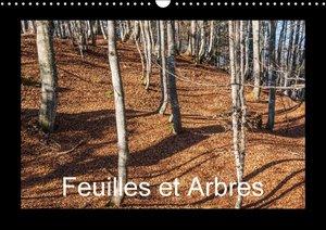 Feuilles et Arbres (Calendrier mural 2015 DIN A3 horizontal)