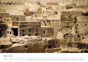 Leben mit der Wüste: Nordafrika (Tischkalender 2016 DIN A5 quer)