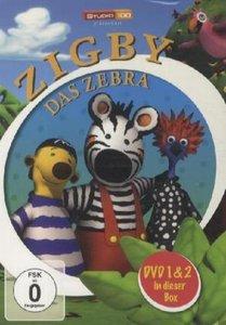Zigby, das Zebra DVD 1 & 2