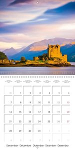 Scotland and its myths (Wall Calendar 2015 300 × 300 mm Square)