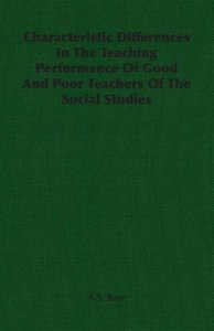 Characteristic Differences In The Teaching Performance Of Good A