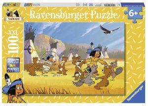 Yakari hat Spaß. Puzzle 100 Teile XXL