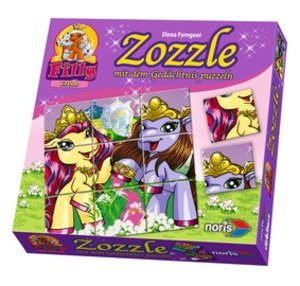 Noris 606010006 - Filly Elves Zozzle: Blossom & Xander