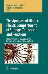 The Apoplast of higher plants: Compartment of Storage, Transport