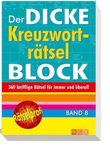 Der dicke Kreuzworträtselblock 08