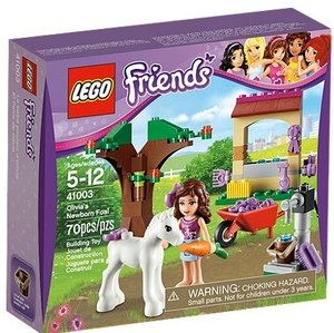 LEGO® Friends 41003 - Olivias Fohlen