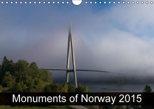 Monuments of Norway 2015 (Wall Calendar 2015 DIN A4 Landscape)