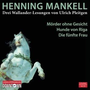 Henning Mankell: Drei Wallander Lesungen (18cds)