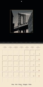 New York 2015 Light & Shadow (Wall Calendar 2015 300 × 300 mm Sq