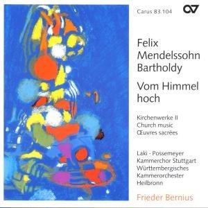 """Weihnachtskantate """"Vom Himmel"""" (Kirchenwerke II)"""